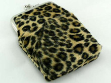 Leopard Fur Cigarette Pack Holder