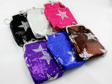 Sequined Stars Cigarette Pack Holder