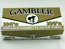 Gambler Light 100's Cigarette Tubes