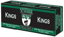 Gambler Menthol King Size Cigarette Tubes