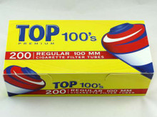 Top Full Flavor 100's Cigarette Tubes
