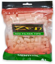 Zen Regular Menthol Cigarette Filter Tips