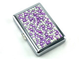 Purple Rain Stone 100 Cigarette Case
