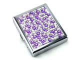 Purple Rain Stone Cigarette Case