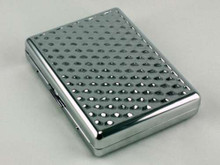 Silver Dimple Cigarette Case