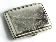 Lucienne Classic Etched Cigarette Case