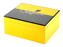 Columbo Medium Yellow Cigar Humidor