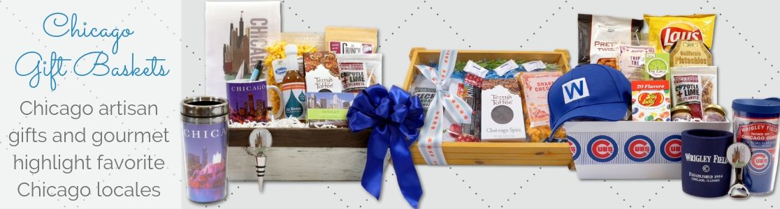 Locally Made Chicago Gift Baskets