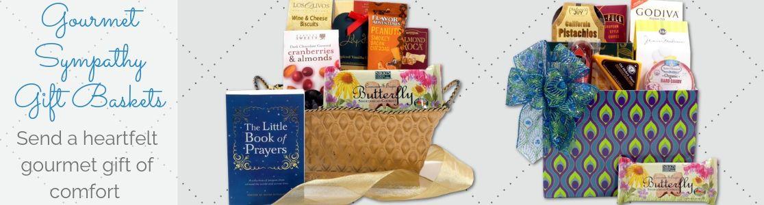 Gourmet Sympathy Gift Baskets