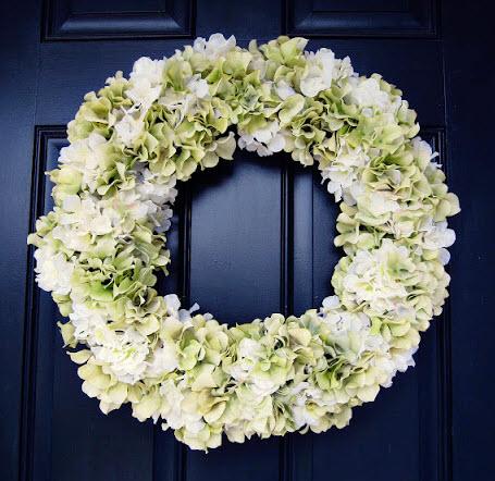 Spring wreath from kris krafting