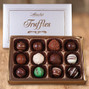 Chocolate truffles are handmade by family owned Abdallah Candies in Minnesota