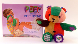 Peef and His Best Friend book and bear