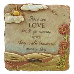 Garden Stone Sympathy Gift brings comfort in the loss of a loved one.