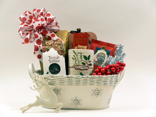 Christmas Greetings Gift Basket