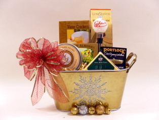 Happy Hour Holiday Gift Basket