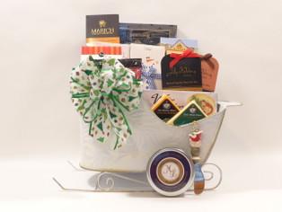 Santa's Christmas Gourmet Gift Basket