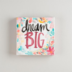 Dream Big Canvas Art