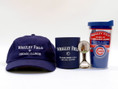 Features Wrigley Field cap and can coozi, Chicago bottle opener, and insulated Chicago Cubs Travel Tumbler