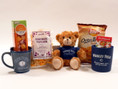 Chicago Cubs Wrigley Bear Gift Basket with Gourmet Snacks, Plush Bear and more
