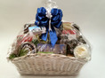 The Custom Chicago Gift Basket is designed to your specifications. Choose your favorite gourmet and gift products and we'll create your own unique design!