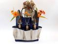 Gardener's Essentials Gardening Gift Basket in sturdy canvas tote bag