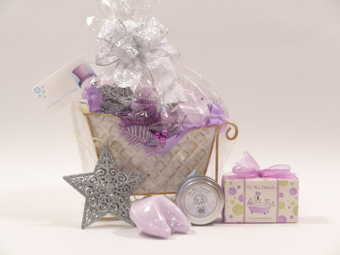 Spa gift basket ideas for christmas