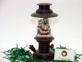 Bronze Musical Lantern with LED Lit Christmas Village with complimentary gift card