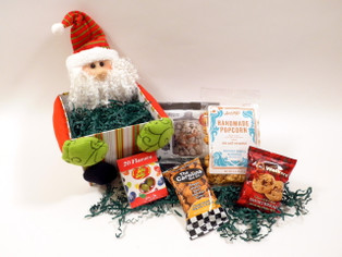 Santa's Treats Holiday Gift Basket