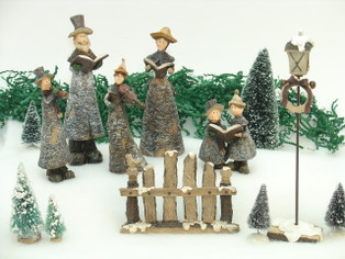 Merry Christmas Caroler Set