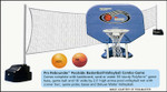 Poolmaster Water Basketball/Volleyball Combo Game (#72775)