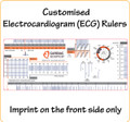 Customised Electrocardiogram (ECG) Rulers with LOGO/Text in Full Colour