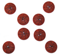 Dress It Up Buttons Basketballs