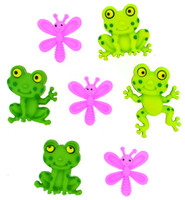 Dress It Up Happy Frogs
