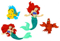 Dress It Up Buttons Disney Collection: The Little Mermaid
