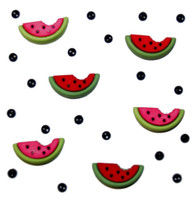 Dress It Up Buttons Watermelon
