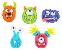 Dress It Up Buttons Mad for Monsters