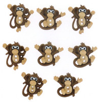 Dress It Up Buttons Sew Cute Monkeys