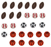 Dress It Up Buttons Sports Equipment
