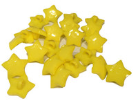 Yellow Star Shank Button