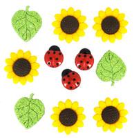Dress It Up Buttons Sunflower