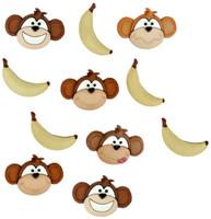 Dress It Up Buttons Monkey Business