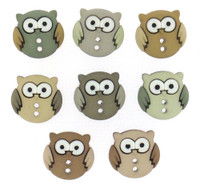 Dress It Up Buttons Sew Cute Owls