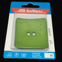Dill Button Square Apple Green 60mm Hook 337