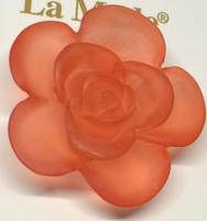 LA Mode 34mm Translucent Peach Flower Hook 175