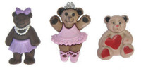 Dress It Up Buttons Girl Bears