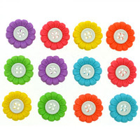 Dress It Up Buttons Sew Cute Sunflowers