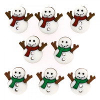 Dress It Up Buttons Sew Cute Snowman