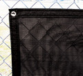 Closed Mesh Black Windscreen - Various Sizes