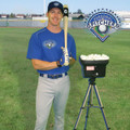 Deluxe Personal Pitcher Pro Curveball Soft Toss Pitching Machine