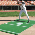 Bermuda Sports Turf 6' x 12' BB Home Plate Mat w/ Thrown Down HP